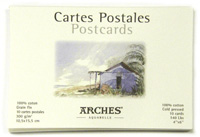Arches WC Postcard Pad