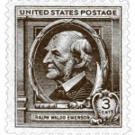 Emerson postage stamp